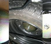 Citroen Berlingo MK2 Spare Wheel Guard