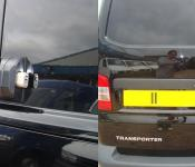 Volkswagen T5 Transporter [2003 > 2015] Side Loading and Rear Door ArmourShells