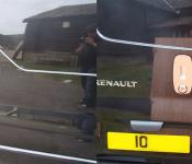 Renault Trafic [2002 > 2013] Side Loading and Rear door SlamPlate