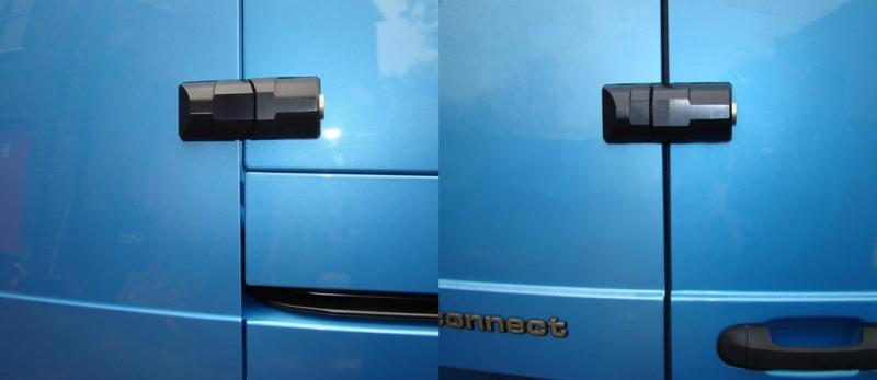Ford Connect [2010 > 2013] Side and Rear door ArmourShells