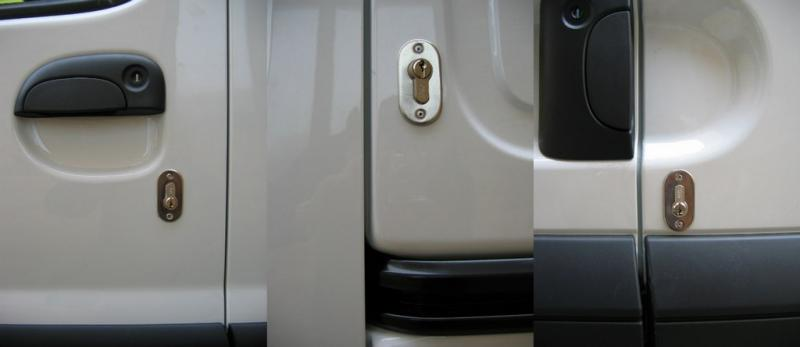 Renault Kangoo [Pre 2009] Front, Side LOading and Rear Door Deadlocks