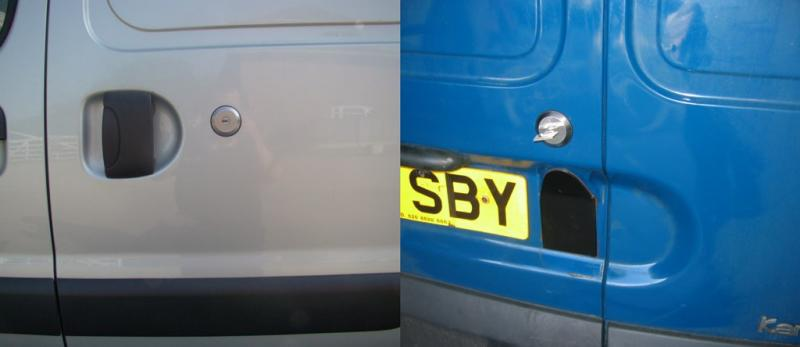 Renault Kangoo [Pre 2009] Side Loading and Rear Door SlamLocks