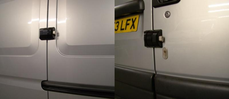 Renault Master [Pre 2010] Side Loading and Rear Door ArmourShells