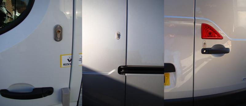 Renault Master 2010 > Present Front, Side Loading and Rear Door Deadlocks