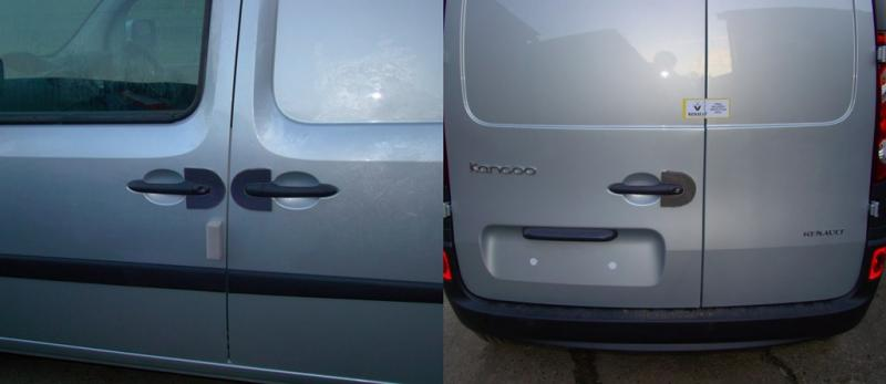 Renault Kangoo [Pre 2009] Front, Side Loading and Rear Door ProtektaPlates