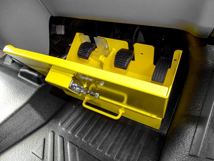 PedalBox fitted to Ford Transit